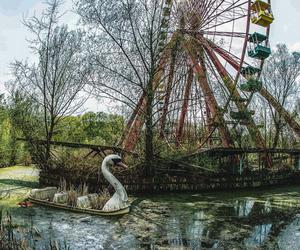 abandoned, spreepark, and theme parks image