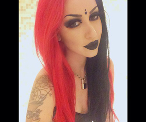ashley costello, new year's day, and ash costello image