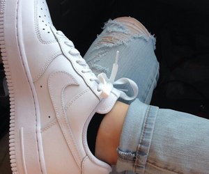 air force, jeans, and love this image