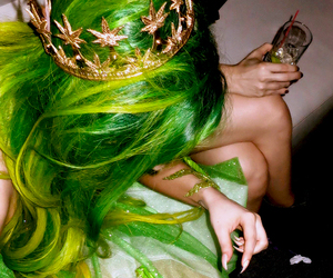Lady gaga, green, and artpop image