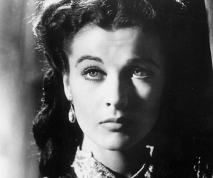 vivien leigh, beautiful, and black and white image