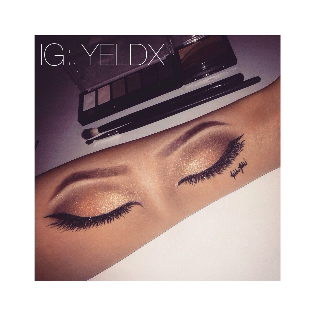 Makeup On Arm Uploaded By Yelda On We Heart It