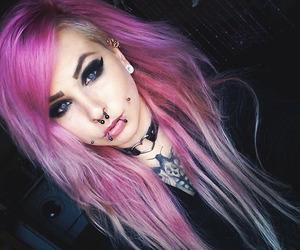 alt girl, girl, and piercing image