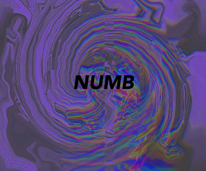 hipster, NUMB, and quote image