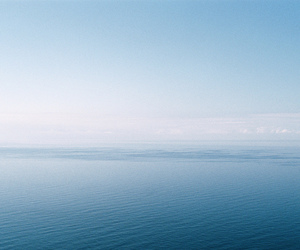 beach, blue, and empty image