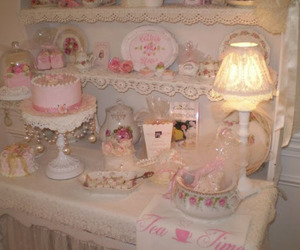 pink, room, and lovely image