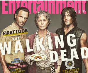 carol, rick grimes, and the walking dead image