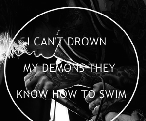 bmth, bring me the horizon, and demon image