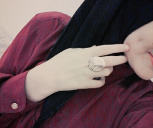 black, girl, and islam image