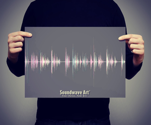 art, soundwaveart, and canvas image