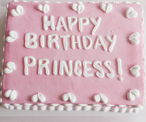 cake and princess image