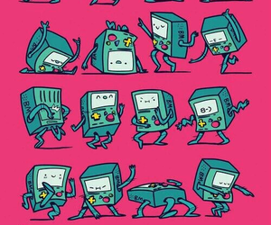 adventure time, bmo, and wallpaper image