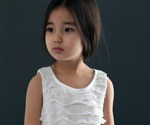 adorable, asian, and baby girl image