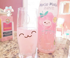 kawaii, cute, and drink image