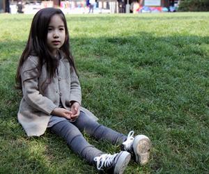 adorable, asian, and girl image