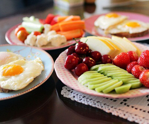 breakfast, fitness, and FRUiTS image