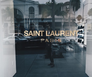 fashion, paris, and saint laurent image