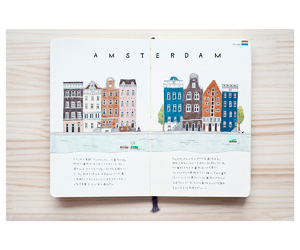 amsterdam, illustrarion, and note image