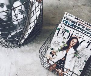 magazine, fashion, and beauty image