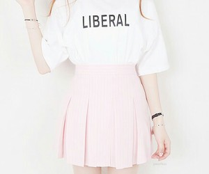 pink, clothes, and kawaii image