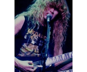 dave mustaine, guitar, and megadeth image