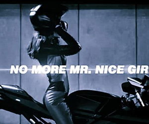 black, girl, and motorcycle image