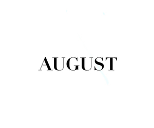 August, fresh, and new image
