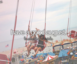 August, summer, and new month image