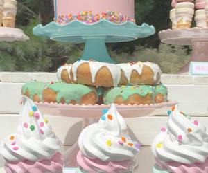 cupcakes, desserts, and donuts image
