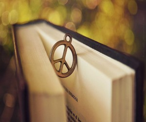 beautiful, book, and peace image