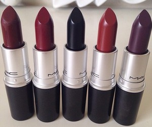 lipstick, mac, and accessories image
