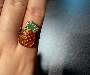 fruit, pineapple, and ring image