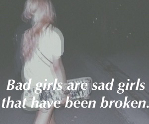quote, broken, and sad image
