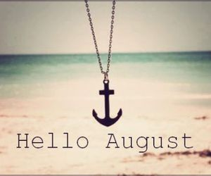 change, hello august, and heart image