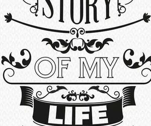 1d, one direction, and story of my life image