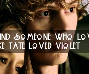 violet, ahs, and american horror story image