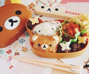 rilakkuma, food, and cute image