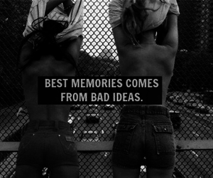 girls, ideas, and memories image