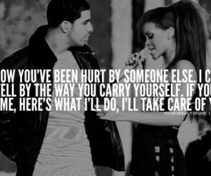 rihanna, Drake, and take care image