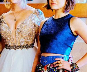 pll, ashley benson, and lucy hale image