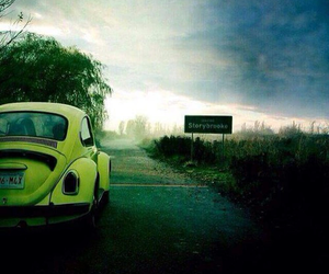 once upon a time, yellow, and storybrook image