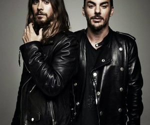 jared leto, shannon leto, and brothers image