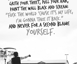 all time low, Lyrics, and missing you image