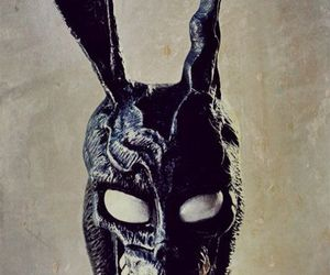 donnie darko, frank, and rabbit image