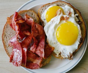 bacon, food, and breakfast image