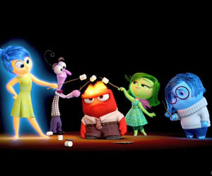 disgust, inside out, and joy image