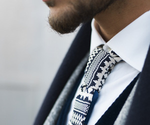 fashion, style, and tie image