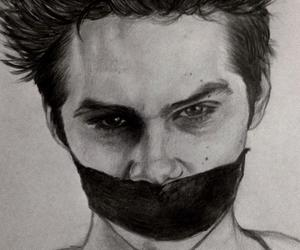 teen wolf, stiles, and drawing image