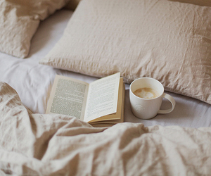 books, morning, and sleeping image