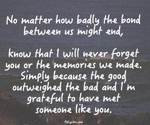 quote, love, and memories image